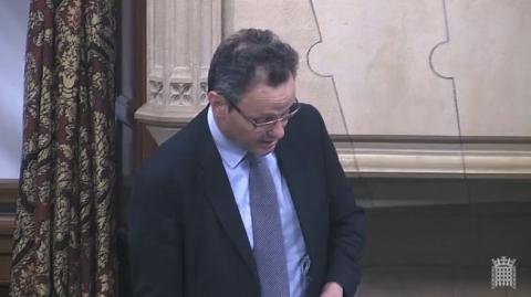 Peter Aldous MP speaking in a Westminster Hall debate